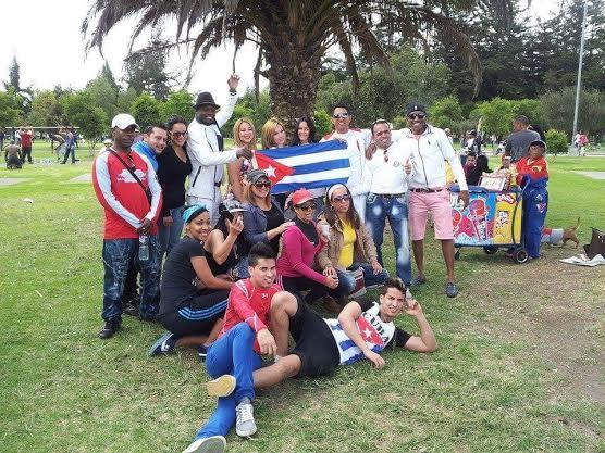 cubanos en Ecuador