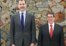 El Gobierno español mantiene congelado viajes a Cuba, en 2018, del Rey Felipe VI y del presidente Rajoy.