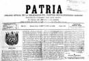 Paradigma Patria, del periodista cubano.