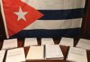 Entregan firmas a los gobiernos de España y Cuba para las jubilación de los cubanos.
